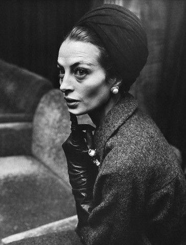 Glacial beauty of Actress-Model Capucine