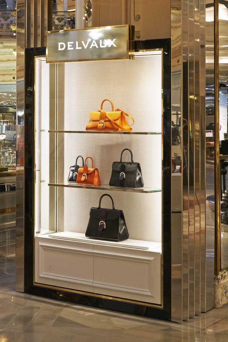 Delvaux Brillant bags @Galeries Lafayette in Paris