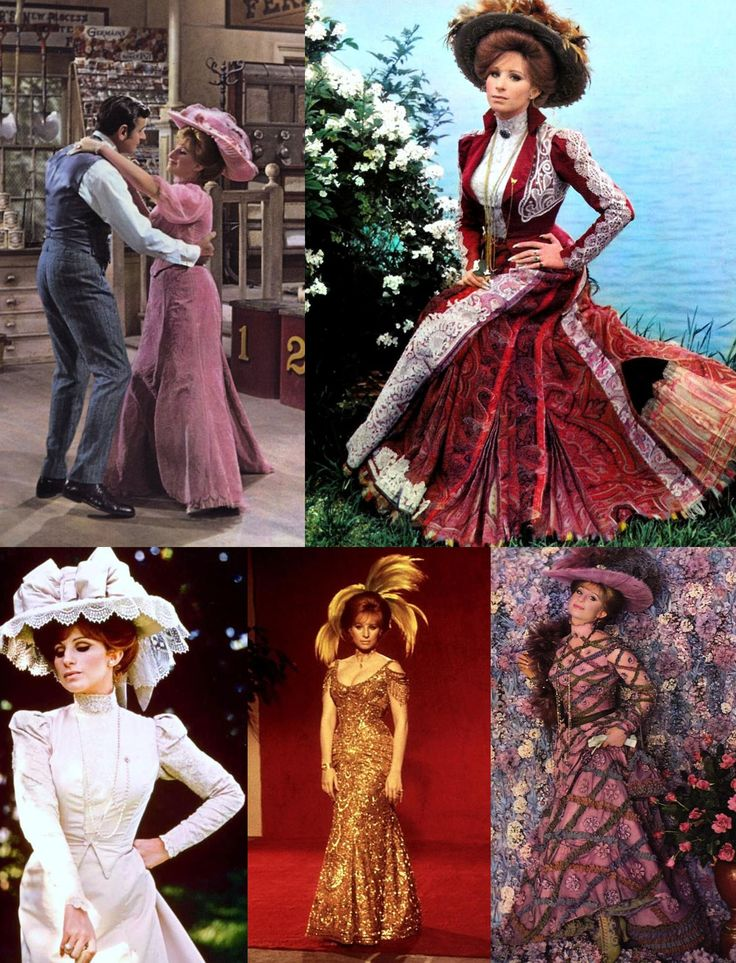 Hello, Dolly! 1969. Directed by Gene Kelly, fashion from the 1890s, oh and Babs! This is a movie I could not only sing every line, but i probably know every spoken line too...to a pathetic extent. Don't care though...LOVE!