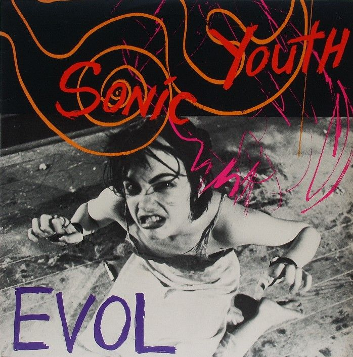 Sonic Youth / Evol album cover