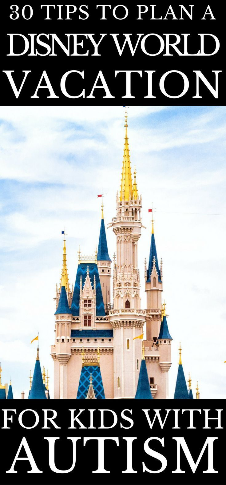 Planning a trip to Disney World requires time and patience for every family, but when you have a child with autism or special needs it takes considerably more effort. I've put together this list of over 30 travel tips to help you pack, plan, and schedule your trip to Disney World with your child with autism. I've taken my son who has autism to Disney World twice and I have picked up some great info you need to know before you go! #traveltips #parenting #autism #disneyworld