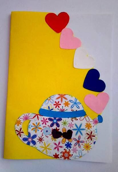 Poesia, biglietto e disegno da colorare per la festa della mamma