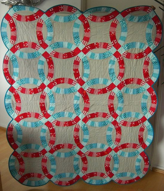 65 best Double wedding ring quilts images on Pinterest Double