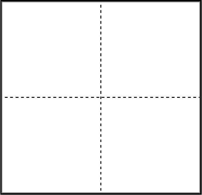 A4纸打印版大号田字格纸模板 Dots Chart Line Chart