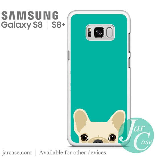 blue french bulldog Phone Case for Samsung Galaxy S8 & S8 Plus