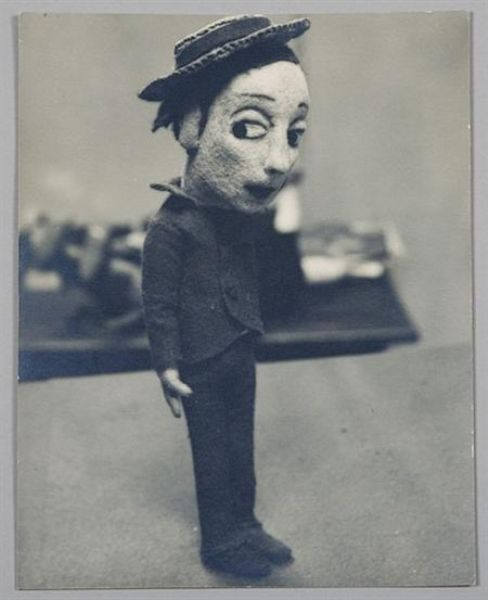 Buster Keaton Doll, 1929. Photo by Alfred Eisenstaedt.