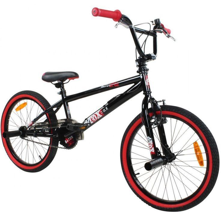 "20 Zoll BMX Bike Fahrrad Freestyle Kinderfahrrad Kind Rad deTOX 20"" schwarz/rot in Sport, Radsport, Fahrräder | eBay!"