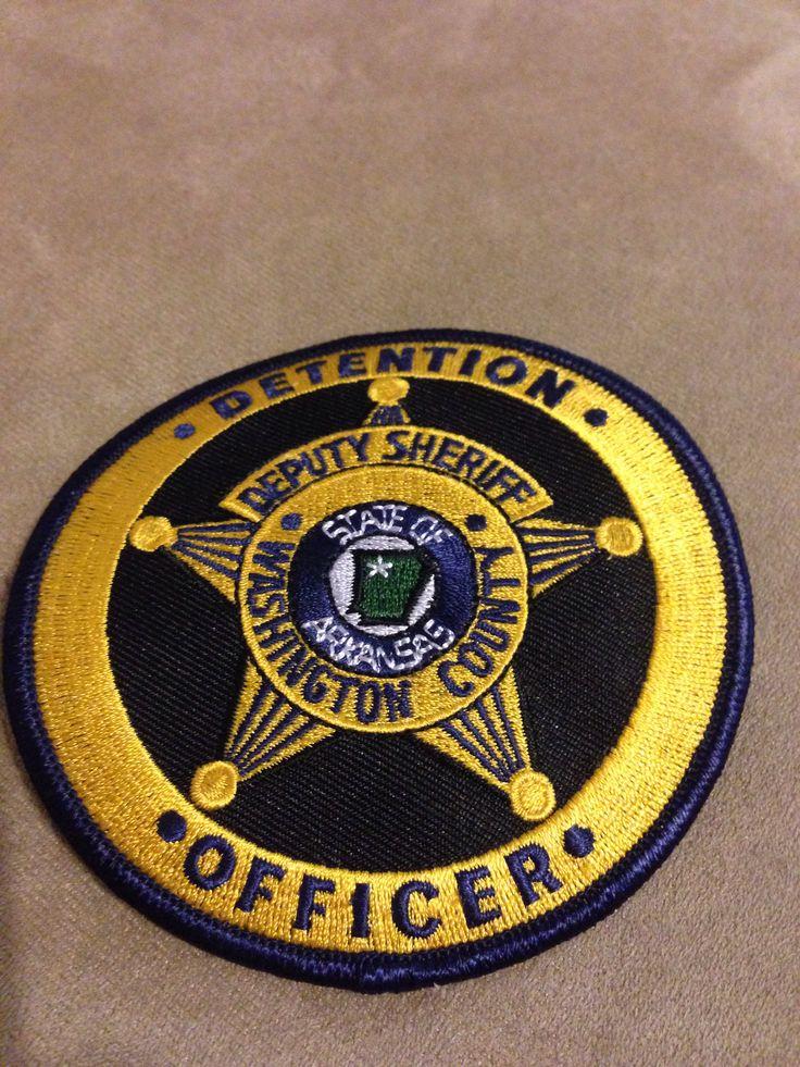 Washington County SO Detention badge Washington county