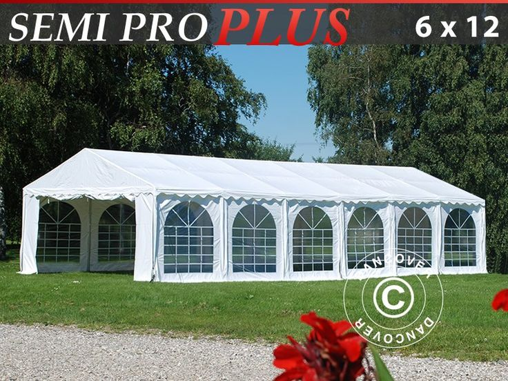 Party tent marquess for the big event