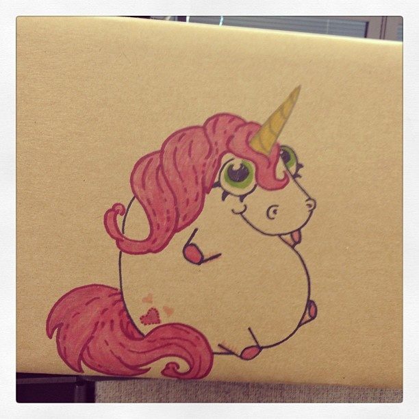 cute chubby unicorn for - photo #25