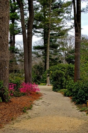 The Planting Fields Arboretum in South Oyster Bay, Long Island, New York.