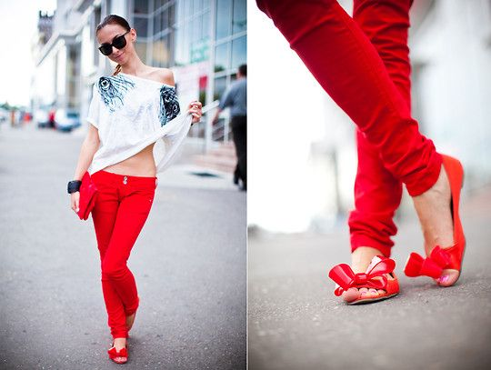 Red day) (by Eugenia Applebum) http://lookbook.nu/look/2032057-Red-day