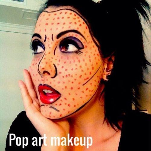 102 best Comic book makeup images on Pinterest | Comic book makeup ...