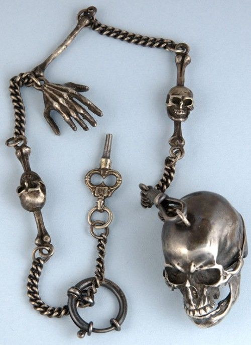 1930s men's watch chain.