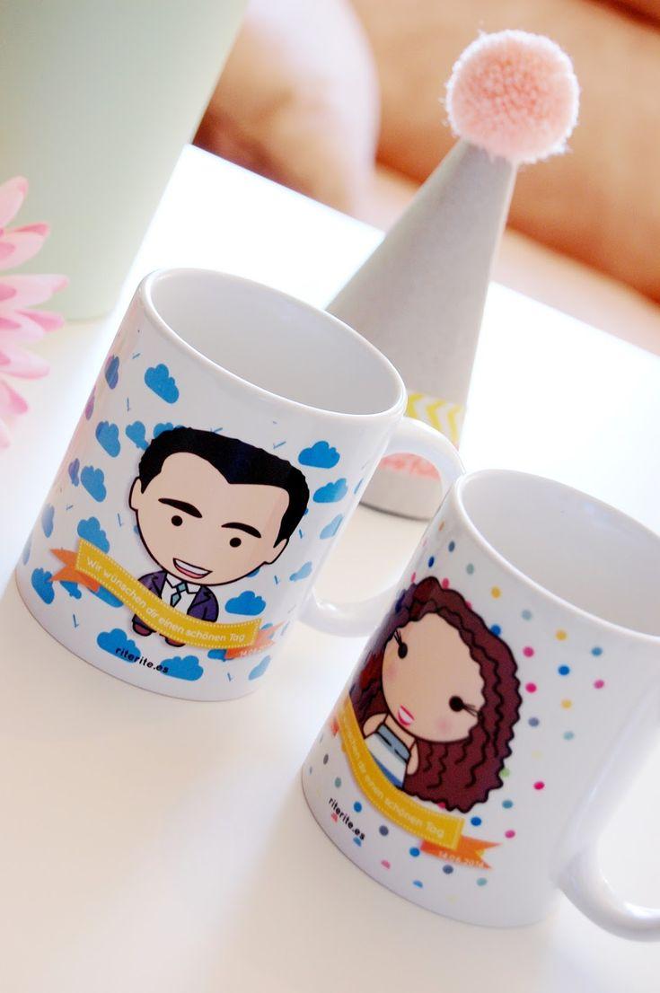 Rite Rite: Regalo boda novios. Tazas personalizadas Noemí & Andrés