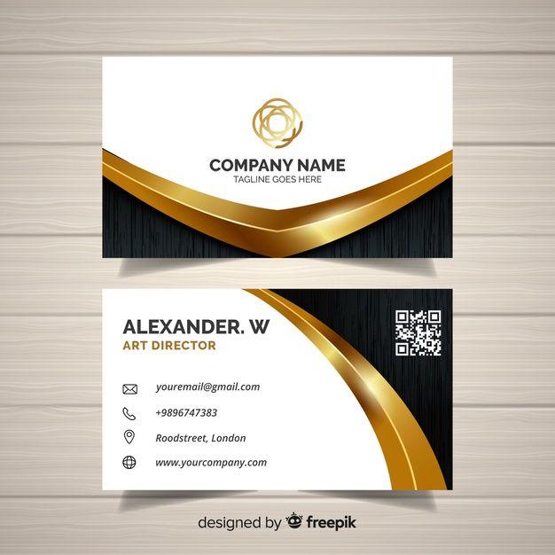Business Card Template Free Vector Freepik Freevector Logo Business Card Business Card Logo Design Free Business Card Design Business Card Design Minimal