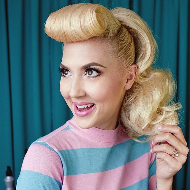 7034 Best Rockabilly Hairstyles Images On Pinterest