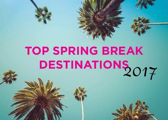 Top Spring Break Destinations 2017 | AdmitSee