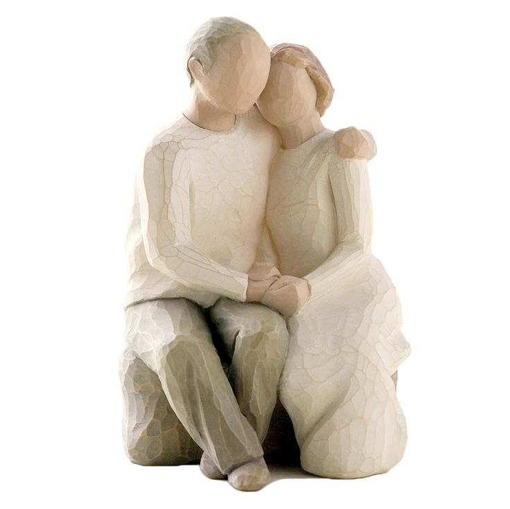 Willow Tree Anniversary Figurine: We stock Willow Tree Figurines, Willow Tree Figures and Willow Tree Ornaments at Gifts and Collectables