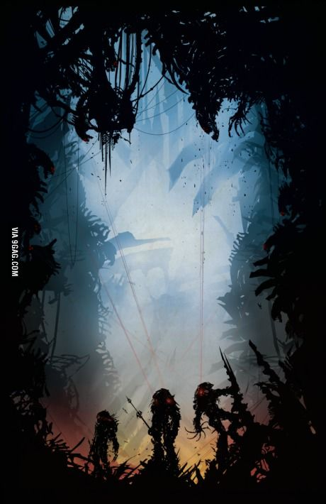 Alien vs Predator - If you make movie without any humans in it. That'd be Great!