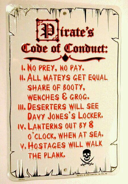 Pirates code