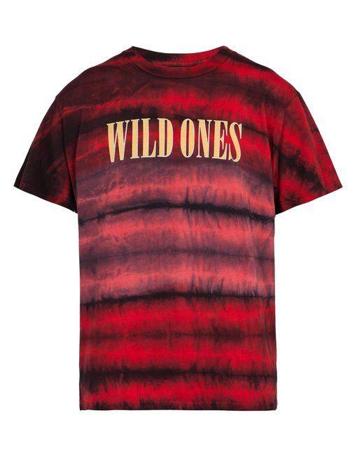 ce57c7836801 AMIRI Wild Ones tie-dye cotton T-shirt.  amiri  cloth