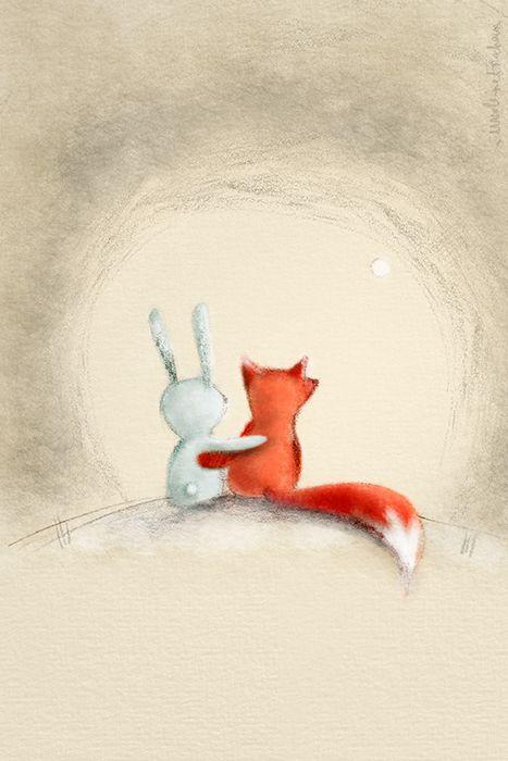 Loveart by Madeleine Frochaux #postcard #illustration #art  ©LoveArt Iphone app