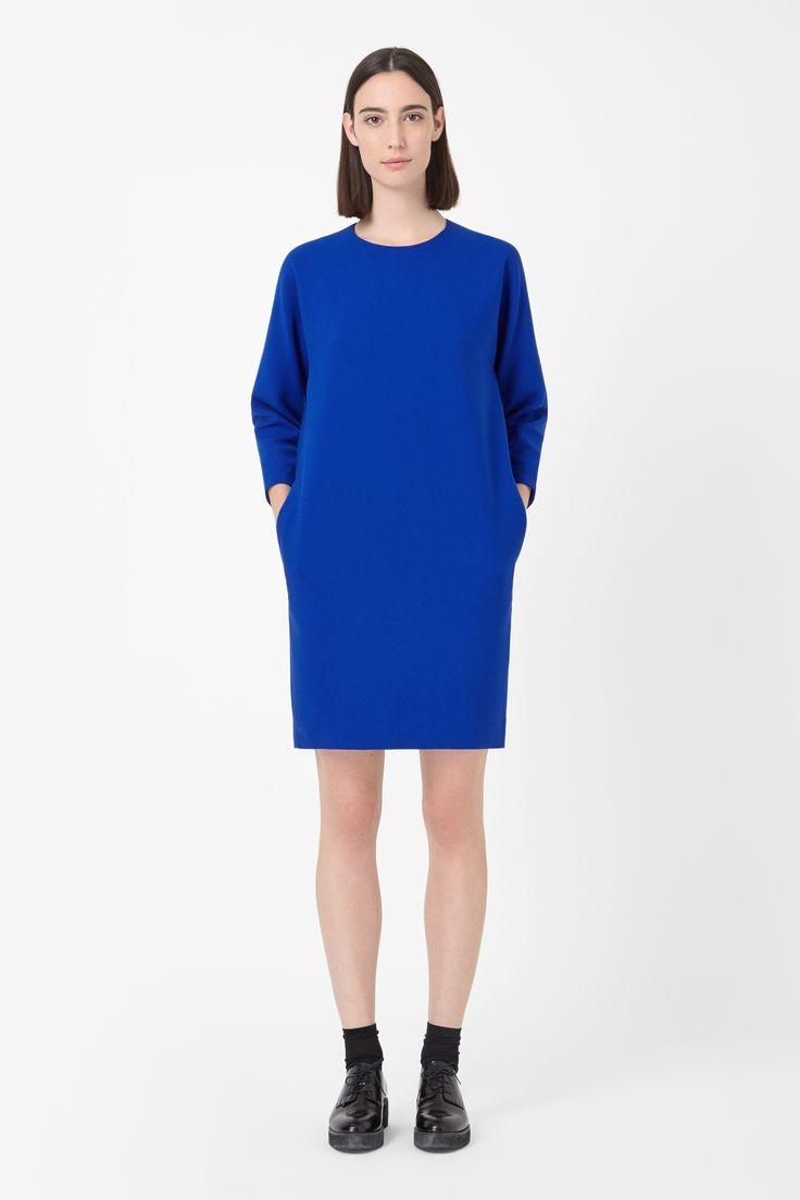 Curved seam dress