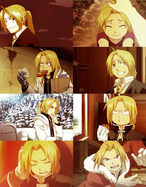 The many faces of Edward Elric