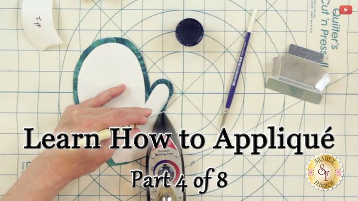 Learn How to Appliqué with Shabby Fabrics - Part 4: Turning the Edges Under