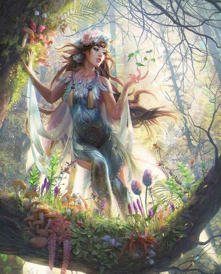 Фея леса картинки