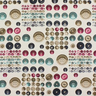 Jacquard Knopfparadies 2 - Polyester - Baumwolle - Farbmix