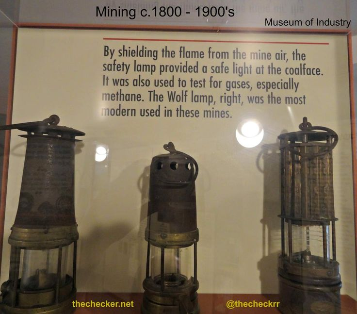 Mine Safety lamps  Embedded image permalink