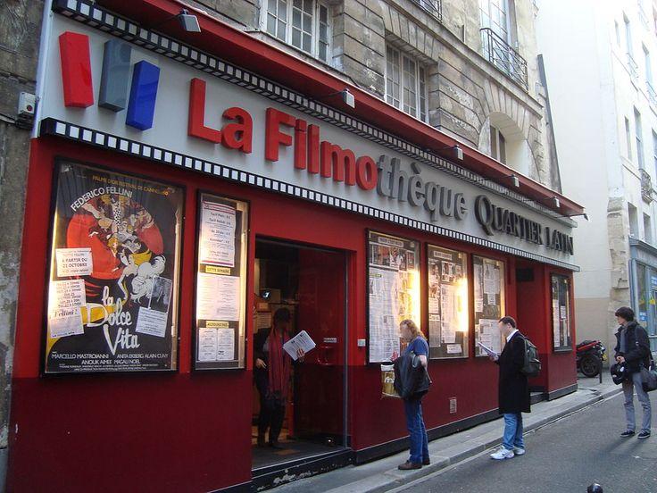 Paris 5e - Rue Champollion -  La Filmothèque Quartier Latin.