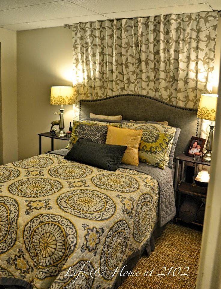 Life & home at 2102: Basement Guest Room PROGRESS AT LAST!