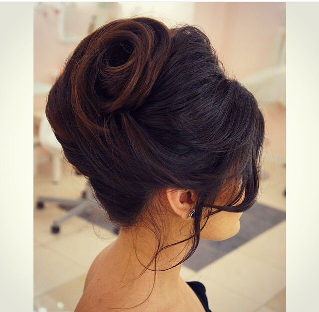 Enjoyable 1000 Ideas About French Roll Hairstyle On Pinterest Roll Short Hairstyles Gunalazisus
