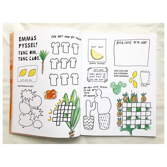 Fruity puzzle and crossword activity sheet in the @bastabiennalen magazine.  Have fun kids!Graphic design by #alarmform #finnfemfel #bananas #ananas #### ##pyssel #bästabiennalen #bästabiennalen2017 #unikaos #whatif #