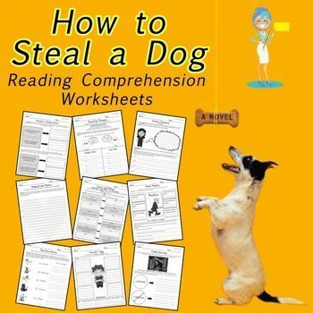 Great reading comprehension activies for How to Steal a Dog.  These worksheets will do the teaching for you while students work independently in Literature Circles.