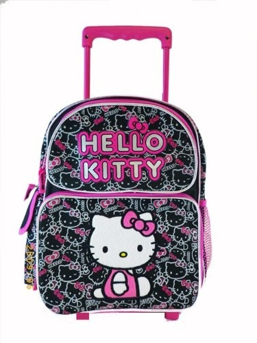 Imagenes De Baños De Hello Kitty:Hello Kitty Rolling Backpack
