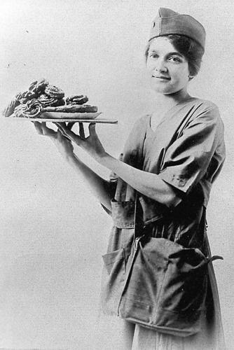 The Salvation Army WWI Doughnut Girl  - my Grandma, Ruth Stillwell Morrison