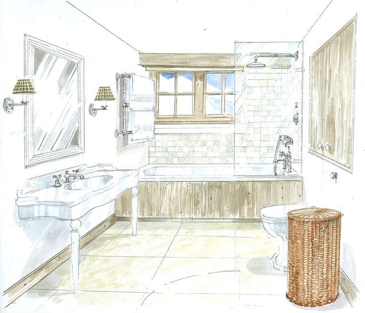 Chalet in Megève - Guest Bathroom