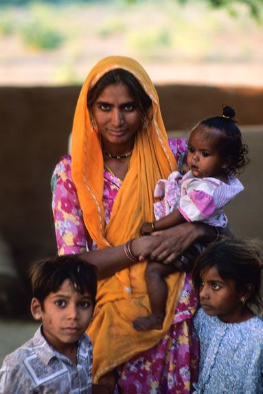 indian family in rajasthan