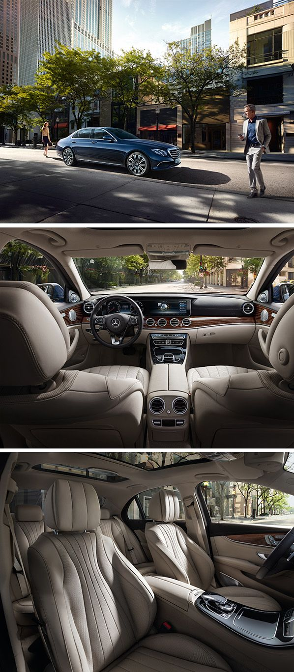 Tuning wald international mercedes benz e class estate w211 - The Interior Of The Mercedes Benz E Class Embodies The Synthesis Of Emotion And