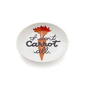 Carrot Pun Plate