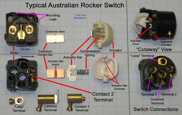 Rocker Switch Google Patents On Electrical Rocker Switch Wiring