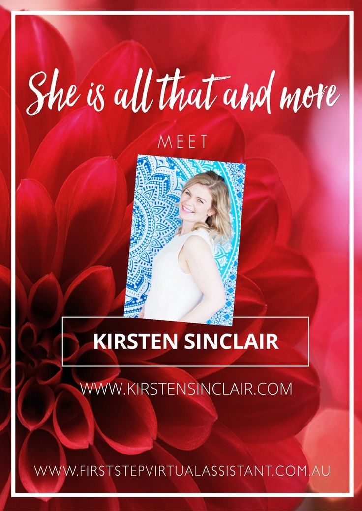 She's all that and more features Kirsten Sinclair, a Business Clarity & Mindset Coach and Mentor for Heart Centred Women.