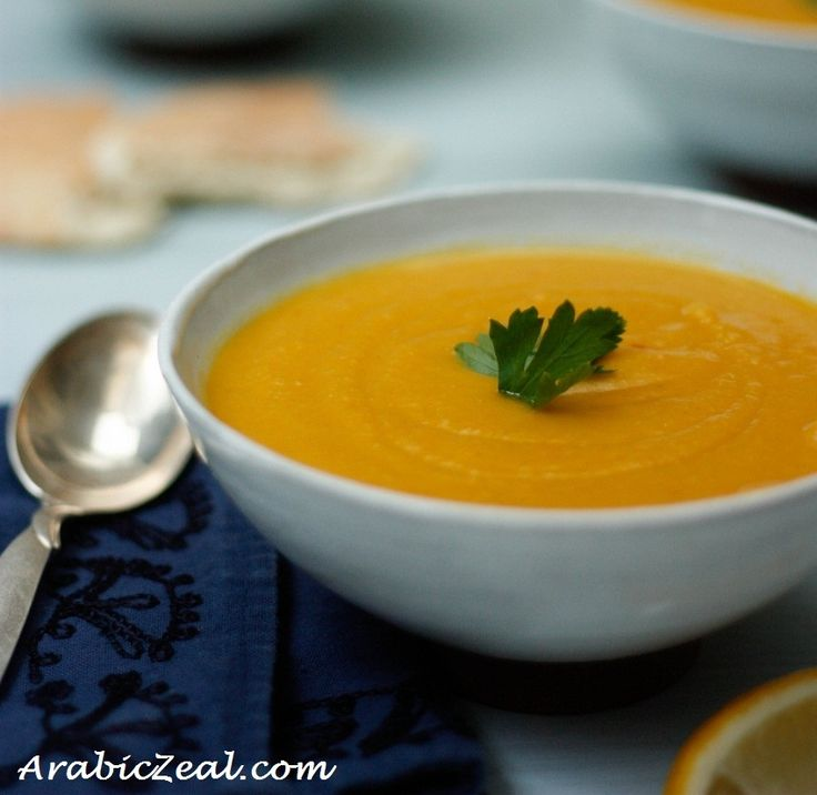 Favorite Ramadan recipes ... starting with Arabic Lentil Soup
