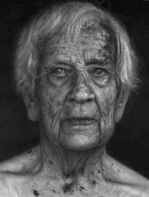 Dirk Dzimirsky Realistic Pencil Portraits