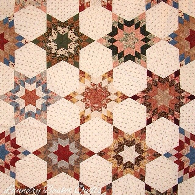 Laundry Basket Quilt of the Day - Western Star