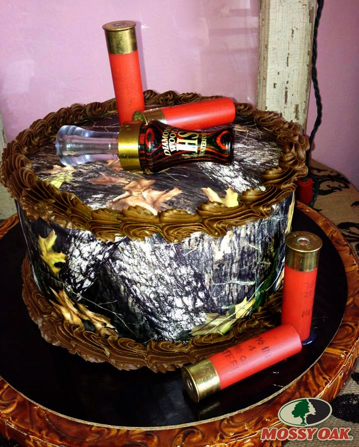 Awesome Mossy Oak Camo Cake!